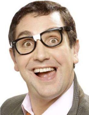 Joke Nerd Glasses with mock plaster
